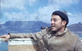 Frank Thomas on sailing trip