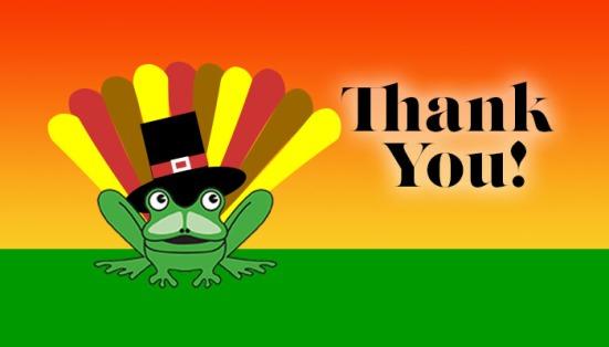 ThanksgivingFrog