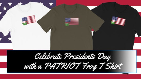 PatriotTShirt3ColorsPresidentsDay