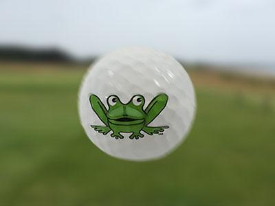 GolfBallFlying